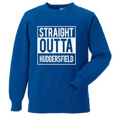 Straight Outta The West End (Chelsea) Millwall Fc, Huddersfield Town, Brighton & Hove Albion, South London, Crystal Palace, Chelsea Fc, West End, Blue Design, Graphic Sweatshirt
