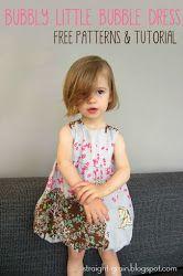 Straight Grain - Bubble Dress - Free, 4 sizes!