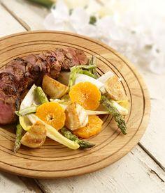 Pork Fillet with ClemenGold, Black Pepper and Honey Glaze  #clemengold #gathering #lecreuset