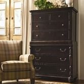 "Paula Deen Home""Sweet Tea 8 Drawer Tall Chest in Tobacco"