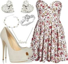 Pretty outfit.