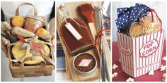 Homemade fare becomes present-worthy in pretty, use-again packages.