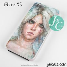 the witcher ciri Phone case for iPhone 4/4s/5/5c/5s/6/6 plus