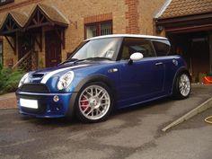 Mini with BBS wheels