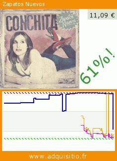 Zapatos Nuevos (CD). Réduction de 61%! Prix actuel 11,09 €, l'ancien prix était de 28,73 €. http://www.adquisitio.fr/emi-music-spain-slu/zapatos-nuevos