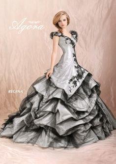 Abiti sposa 2012 Agorà grigio