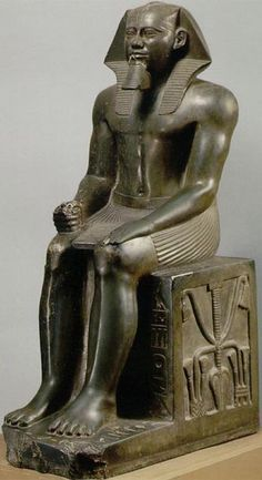 Khafre, from Gizeh, Egypt, Dynasty IV, ca. 2520-2494 все. Diorite