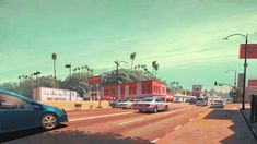 painted interpretations in and around los angeles by robh ruppel.