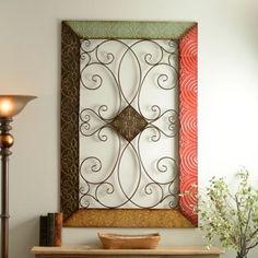 monterrey metal wall plaque - Bedroom Wall Plaques