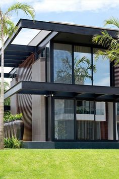 Stunning Modern House Design 10 Stunning Modern House Design Mogumoguni: Stunning Modern House Design Related Amazing Apartment Design Collections You Have To KnowI think. Modern Minimalist House, Minimalist Architecture, Architecture Design, Modern Architecture House, Residential Architecture, Minimalist Interior, Minimalist Bedroom, Modern House Facades, Modern House Plans