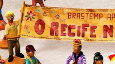 Bgourmet Recife was done inspired by the work of Mestre Vitalino.  Agency: DM9 Brazil AD: Ulisses Razaboni Studio: Quad studio Illustrators: João Ferraz | Lucio Libanori Co-workers: Andressa Reigadas