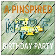 Nerf Birthday Party-To-Go