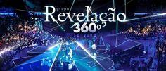 """Lançamento do CD/DVD """"360° Ao Vivo"""", dias 12 (terça feira) e 13 (quarta feira) de abril de 2013!"""