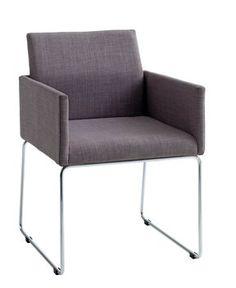 Ruokapöydän tuoli LINTRUP kangas harmaa
