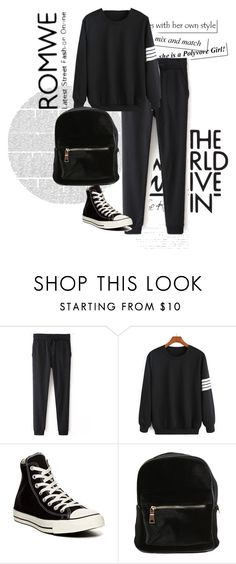 """""""..."""" by lejlasaric ❤ liked on Polyvore featuring Converse, women's clothing, women, female, woman, misses and juniors"""