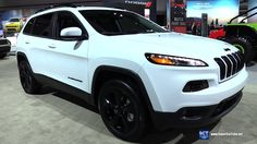 2017 Jeep Cherokee 4x4 - Exterior and Interior Walkaround - 2016 LA Auto...