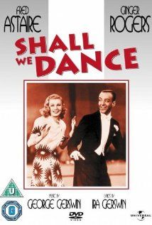 Shall We Dance Directed by Mark Sandrich. With Fred Astaire, Ginger Rogers, Edward Everett Horton, Eric Blore. A budding romance between a ballet master and a tapdancer becomes complicated when rumours surface that they're already married. Old Movie Posters, Classic Movie Posters, Movie Poster Art, Classic Movies, Dance Movies, All Movies, Great Movies, Film Musical, Film Movie