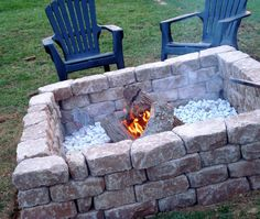 6 Unique Tricks Can Change Your Life: Easy Fire Pit Night rustic fire pit front porches. Diy Fire Pit, Fire Pit Backyard, Outdoor Spaces, Outdoor Living, Outdoor Decor, Outdoor Ideas, Porches, Fire Pit With Rocks, Fire Pit Lighting
