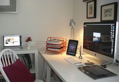 home office, a little mac world by jus4ur,