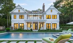 Heading to the coast for the winter? The illustrious @coastalliving 2016 Hamptons Showhouse outfitted with Marvin windows presents the ideal way to dress your coastal home with protection and style, to boot.