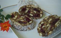 Meggyes kókuszos keksz szalámi – a kedvenc édességünk, mámorító finomság!! - MindenegybenBlog Romanian Food, Romanian Recipes, Sweet Memories, French Toast, Muffin, Goodies, Ale, Baking, Breakfast