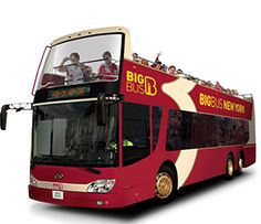 New York Bus Tours   New York Sightseeing   Big Bus Tours