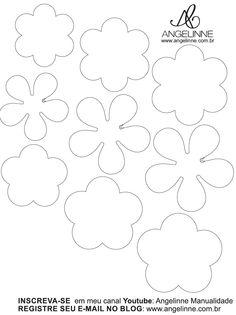 Molde Mini Flor de Papel