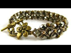 Video: L'Amore Bracelet #Seed #Bead #Tutorials
