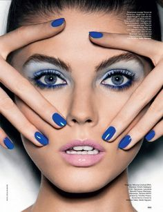 Maryna Linchuk by Nicolas Moore for Allure Russia February 2014