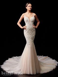 Pebbles Mermaid Gown, Mermaid Dresses, Bridal Dresses, Elegant Wedding Dress, Designer Wedding Dresses, Lace Wedding, Peach Gown, Bridal Wardrobe, Couture Wedding Gowns