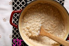 Risotto Rice Pudding with Brown Sugar & Vanilla