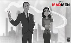 Paper MAD MEN by EadgeArt.deviantart.com on @deviantART