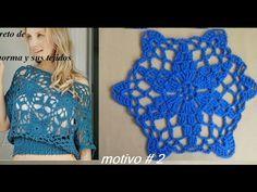 motivo  estrella# 2 para blusa - YouTube