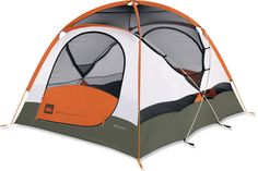 REI Base Camp 4 Tent - our home away from home.