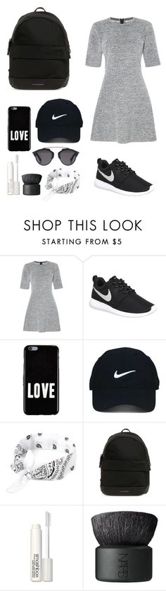 """Sin título #152"" by belen-saenger ❤ liked on Polyvore featuring Calvin Klein, NIKE, Givenchy, Nike Golf, Burberry, Smashbox, NARS Cosmetics and Christian Dior"