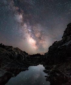 The Watchman looks at Milkyway at Marginal Way in Ogunquit Maine. Can you find him? [OC] [3567x5360]
