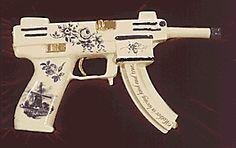 Delft flow blue design AK-47.