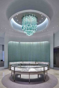 Tiffany & Co. Bellavit Store, Taipei icefalls, Tiffany teal by Jitka ...
