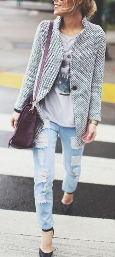 Schöne Jacke!