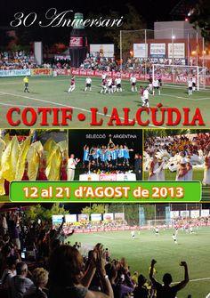 Cartel del 30 aniversario del Cotif