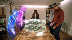 What is AR and how does it differ from virtual reality? Two technologies that are confusingly similar, but utterly different. Augmented Virtual Reality, Virtual Reality Videos, Digital Technology, New Technology, What Is Ar, Innovation Lab, Future Tech, Interface Design, Technology Gadgets