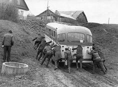 Москва, автобус ЛиАЗ-158В № 15-7* ММА; Москва — Старые фотографии