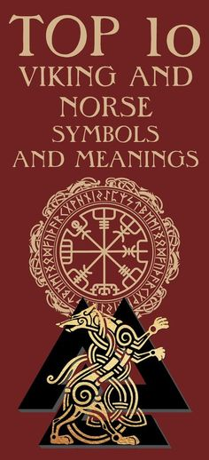 Top 10 Viking Ad Norse Symbols And Meanings. Vikings used a number of ancient symbols based on Norse mythology. Symbols played a vital role in the Viking society and were used to represent their gods, beli Viking Symbols And Meanings, Nordic Symbols, Magic Symbols, Ancient Symbols, Egyptian Symbols, Nordic Runes Meaning, Hugin Munin Tattoo, Fenrir Tattoo, Norse Mythology Tattoo