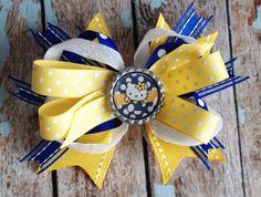 Stacked Boutique Hair Bows - May Arts Wholesale Ribbon Company