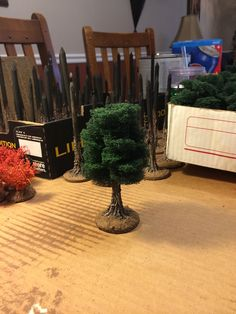 Terrainscaping! Cómo hacer árboles de mesa impresionante!