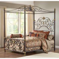 Bedroom Wonderful Canopy Bedroom Sets For Bedroom Decoration from Queen Canopy Bed SetQueen Canopy Bed Set - Bunk beds Decor, Home, Iron Canopy Bed, Hillsdale Furniture, Bed, Furniture, Bedroom Sets, Iron Bed, Bedroom Furniture