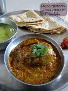 Bharli Vangi (Stuffed Brinjals) – Maharashtrian Recipe