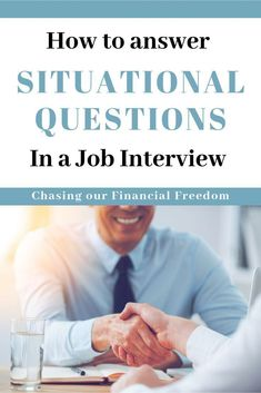 Situational Job Interview Questions and How To Answer Them Situational interview questions are meant to test how you behave and perform in certain situations that are relevant to the job you are interviewing for. Situational Interview Questions, Interview Questions And Answers, Job Interview Tips, Job Interviews, Career Quotes, Career Advice, Career Success, Career Coach, Career Change