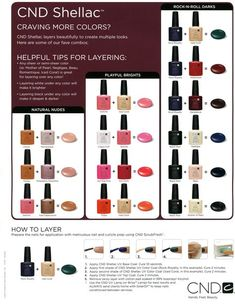 CND Shellac – Nail Colour Layering Guide   The Plastic Diaries Beauty Blog