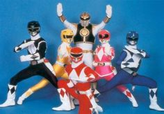 IT'S MORPHIN' TIME.  Unfortunately, my son liked the Power Rangers when he was very young.  What a bizarre show!
